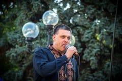 Η ομιλία Oleg Tyahnybok Στοκ φωτογραφία με δικαίωμα ελεύθερης χρήσης