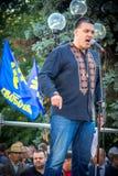 Η ομιλία Oleg Tyahnybok Στοκ Εικόνες
