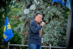 Η ομιλία Oleg Tyahnybok Στοκ εικόνα με δικαίωμα ελεύθερης χρήσης