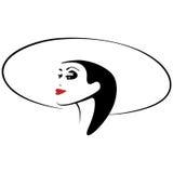 η ομορφιά καλύτερη μετατρέπει την ποιότητα κοριτσιών ακατέργαστη Όμορφο πρόσωπο γυναικών μόδας μελάνι Στοκ εικόνα με δικαίωμα ελεύθερης χρήσης