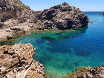 Η ομορφιά της Μεσογείου Στοκ Εικόνα
