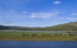 Η ομορφιά της σιβηρικής φύσης Στοκ Εικόνες