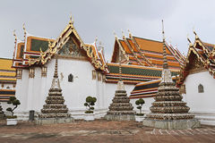 Η ομορφιά της ταϊλανδικής αρχιτεκτονικής Στοκ φωτογραφία με δικαίωμα ελεύθερης χρήσης