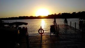 Η ομορφιά του ηλιοβασιλέματός μου Στοκ φωτογραφίες με δικαίωμα ελεύθερης χρήσης