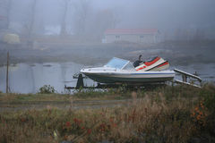 Η ομορφιά του κόλπου γη-λαγών Στοκ Εικόνες
