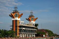 Η ομορφιά του πύργου άποψης Banjarmasin στοκ εικόνα με δικαίωμα ελεύθερης χρήσης