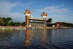 Η ομορφιά του πύργου άποψης Banjarmasin στοκ εικόνες