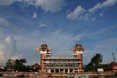 Η ομορφιά του πύργου άποψης Banjarmasin στοκ φωτογραφία με δικαίωμα ελεύθερης χρήσης