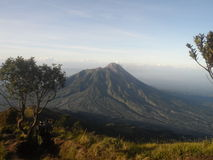 Η ομορφιά Merapi Στοκ Φωτογραφία