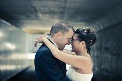 Η ομορφότερη ημέρα στη ζωή - ο γάμος Στοκ Φωτογραφίες