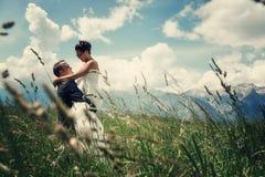 Η ομορφότερη ημέρα στη ζωή - ο γάμος Στοκ φωτογραφίες με δικαίωμα ελεύθερης χρήσης