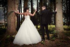 Η ομορφότερη ημέρα στη ζωή - ο γάμος Στοκ Φωτογραφία