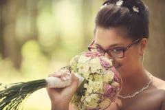 Η ομορφότερη ημέρα στη ζωή - ο γάμος Στοκ φωτογραφία με δικαίωμα ελεύθερης χρήσης
