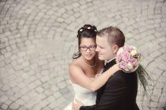 Η ομορφότερη ημέρα στη ζωή - ο γάμος Στοκ εικόνα με δικαίωμα ελεύθερης χρήσης
