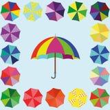 Η ομπρέλα στοκ φωτογραφία