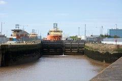 Η ορμή Toisa, σκάφος ανεφοδιασμού ρυμουλκών στοκ εικόνες με δικαίωμα ελεύθερης χρήσης
