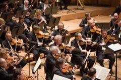 η ορχήστρα του Μπρνο εκτ&epsilo Στοκ Εικόνα