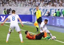 Η ουκρανική Premier League: Δυναμό Kyiv β Shakhtar Στοκ Εικόνες