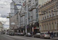 Η οδός Sumskaya είναι η κεντρική οδός Kharkiv Στοκ Φωτογραφία