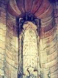 Η πέτρα Άγιος του κάστρου του Εδιμβούργου Στοκ φωτογραφία με δικαίωμα ελεύθερης χρήσης
