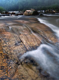 Η πέτρα στο νερό Στοκ Εικόνα
