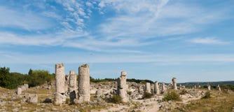 Η πέτρινη έρημος (kamani Pobiti) κοντά στη Βάρνα, Βουλγαρία Στοκ εικόνα με δικαίωμα ελεύθερης χρήσης