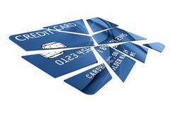 η πίστωση καρτών έκοψε τα κ&omic απεικόνιση αποθεμάτων