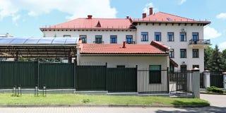 Η πίσω πλευρά της ρωσικής πρεσβείας στη Λιθουανία Στοκ φωτογραφία με δικαίωμα ελεύθερης χρήσης