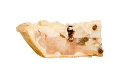 Η πίτα της Apple απομονώνει στο λευκό, ψαλιδίζοντας την πορεία Στοκ φωτογραφία με δικαίωμα ελεύθερης χρήσης