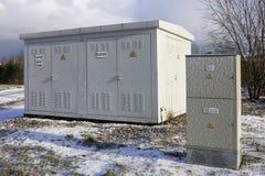 Η παγωμένη ηλεκτρική δύναμη Στοκ Εικόνα