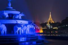 Η παγόδα Shwedagon Στοκ φωτογραφίες με δικαίωμα ελεύθερης χρήσης
