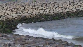 Η παλίρροια είναι μέσα στοκ φωτογραφία