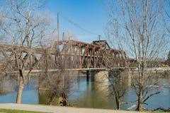 Η παλαιά γέφυρα οδών Ι στοκ εικόνες
