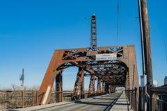 Η παλαιά γέφυρα οδών Ι Στοκ Εικόνα