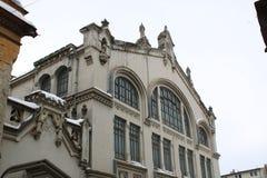 Η παλαιά κατασκευή στο Βουκουρέστι στοκ φωτογραφίες
