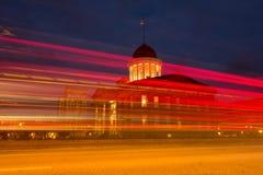Η παλαιά κρατική ιστορική περιοχή κρατικού Capitol, στο Σπρίνγκφιλντ, Ιλλινόις Στοκ Εικόνα