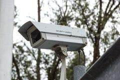 Η παλαιά λειτουργία κάμερων ασφαλείας CCTV μακροπρόθεσμη Στοκ εικόνα με δικαίωμα ελεύθερης χρήσης