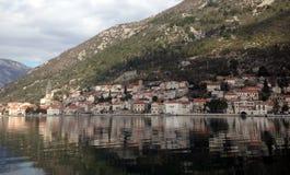 Η παλαιά πόλη σε mediterranian στοκ εικόνες με δικαίωμα ελεύθερης χρήσης