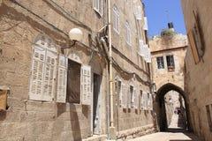 Η παλαιά πόλη της Ιερουσαλήμ Στοκ Εικόνα