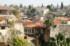 Η παλαιά πόλη Kaleici σε Antalya, Τουρκία Στοκ εικόνα με δικαίωμα ελεύθερης χρήσης