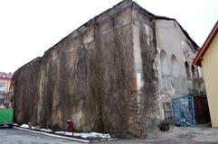 Η παλαιά συναγωγή σε Chortkiv Στοκ εικόνα με δικαίωμα ελεύθερης χρήσης