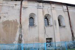 Η παλαιά συναγωγή σε Chortkiv Στοκ φωτογραφίες με δικαίωμα ελεύθερης χρήσης