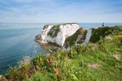 Η παλαιά του Harry ΟΥΝΕΣΚΟ Αγγλία ακτών βράχων Jurassic στοκ φωτογραφίες με δικαίωμα ελεύθερης χρήσης