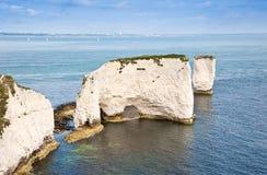 Η παλαιά του Harry ΟΥΝΕΣΚΟ ακτών βράχων Jurassic στοκ εικόνες με δικαίωμα ελεύθερης χρήσης