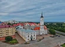 Η παλαιότερη αίθουσα πόλεων Mogilev Στοκ φωτογραφία με δικαίωμα ελεύθερης χρήσης