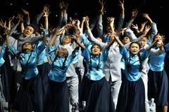 Η πανεπιστημιακή επίδειξη τέχνης της 4ης Κίνας Στοκ Φωτογραφία