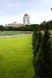 Η πανεπιστημιούπολη το πανεπιστήμιο στοκ φωτογραφία με δικαίωμα ελεύθερης χρήσης