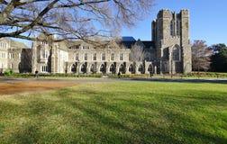Η πανεπιστημιούπολη Πανεπιστημίου του Ντιούκ σε Durham, βόρεια Καρολίνα στοκ εικόνες με δικαίωμα ελεύθερης χρήσης