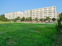 Η πανεπιστημιούπολη στο chengdu, Κίνα Στοκ φωτογραφία με δικαίωμα ελεύθερης χρήσης