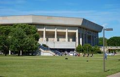 Η πανεπιστημιούπολη του κρατικού πανεπιστημίου της Αϊόβα Στοκ Φωτογραφίες